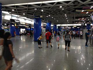 Zhujiang New Town station Guangzhou Metro interchange station