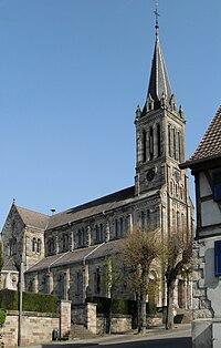 Zillisheim, Eglise Saint-Laurent.jpg
