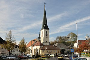 Zwettl an der Rodl - Image: Zwettl ad Rodl Pfarrkirche