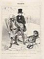 """""""Ne laissez donc pas vôtre ami dans cet état-là!..,"""" plate 4 from the series Vulgarités, published in Le Charivari MET DP832858.jpg"""