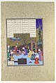 """Nushirvan Promulgates His Reforms"", Folio 602v from the Shahnama (Book of Kings) of Shah Tahmasp MET DP107181.jpg"