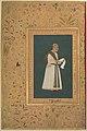 """Portrait of Mulla Muhammad Khan Vali of Bijapur"", Folio from the Shah Jahan Album MET DP247726.jpg"