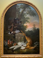 Still-life with Game in a Landscape