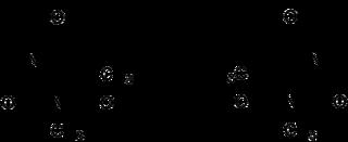 Struktur von (±)-Hexobarbital
