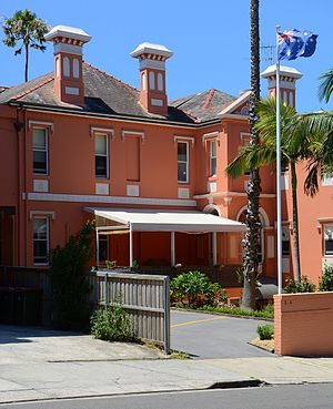 John See - Milford House, See's Italianate mansion in the Sydney suburb of Randwick