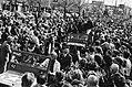 (Her) Intocht van Canadezen die Amsterdam bevrijdden op Vrijheidslaan vanaf de , Bestanddeelnr 930-8139.jpg