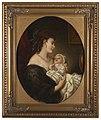 Äiti ja lapsi, Painting by an Unknown Artist.jpg
