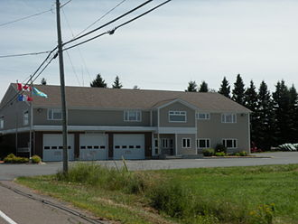 Charlo, New Brunswick - Municipal building
