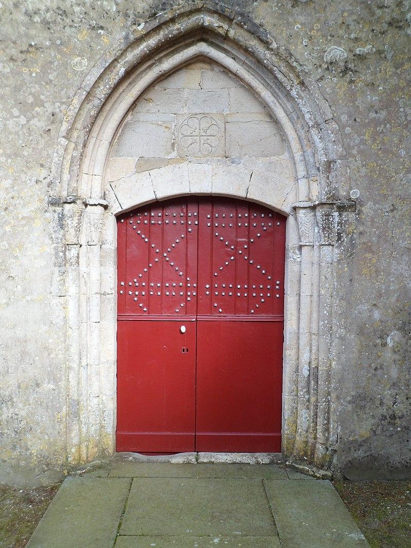 Église Saint-Côme Saint-Damien d'fr:Hiesville