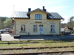 Överum station 2011
