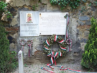 Foreign relations of Hungary - Memorial to Hungarian freedom fighters of 1848–1849 at Protestant Cemetery in Şişli, Istanbul.
