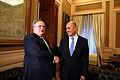 Συνάντηση Υπουργού Εξωτερικών Ν. Κοτζιά με τον Πρέσβη της Τουρκικής Δημοκρατίας K. Uras (ΥΠΕΞ, 13.02.15, 17-30) (16362037278).jpg