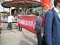 Антифашисткая растяжка на шествии в Екатеринбурге.jpg