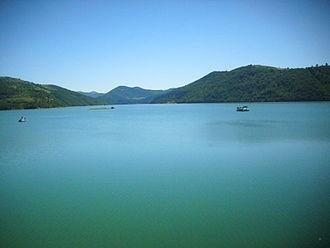Zlatar Lake - Zlatar Lake, view from the dam