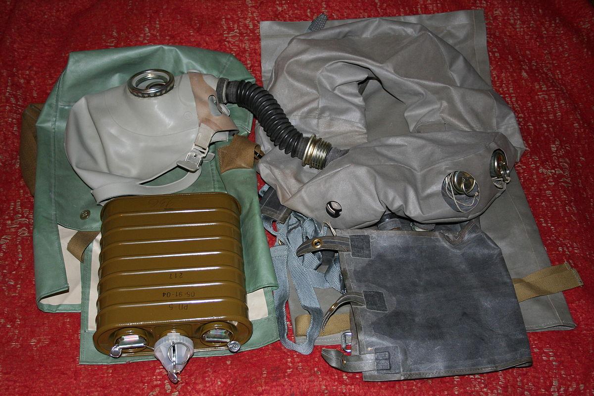 На себе проверил армейский дыхательный аппарат. Military .