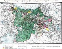 арта распределения армянского населения в Турецкой Армении и Курдистане с пояснительною запискою, 1895.jpg