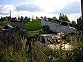 Максатиха, свалка металлолома Maksatikha, scrap yard, 2009 - panoramio.jpg