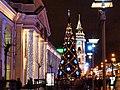 Новогодняя ёлка у Гостиного двора - panoramio.jpg