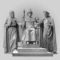 Патриарх Филарет, цар Михаил и икониня Марфа – памятник в честь 300-летия дома Романовых.png