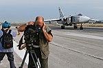 Работа российских и иностранных СМИ на авиабазе «Хмеймим» в Сирии (25).jpg