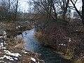 Река Уша в посёлке Красное. Usha River in the village of Red. - panoramio.jpg