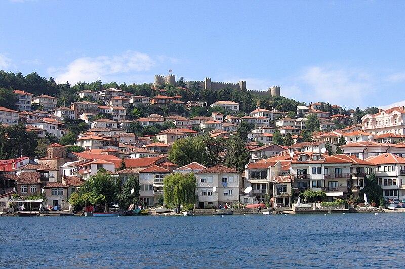 File:Самуилова крепост, Охрид, Македония.jpg