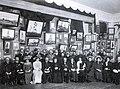 Степан Писахов на выставке своих работ в 1910 году.jpg