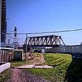 Строящийся путепровод с эстакадой МК МЖД над Белорусским ходом. (14308735921).jpg