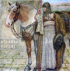 The knight woman