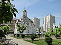 Часовня на территории Храма блаженной Ксении Петербургской - panoramio.jpg