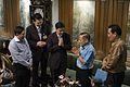 นายกรัฐมนตรีเข้าอวยพรวันเกิดคุณบรรหาร ศิลปอาชา ณ บ้านพ - Flickr - Abhisit Vejjajiva (2).jpg