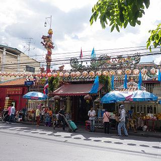 San Chaopho Suea Subdistrict Khwaeng in Thailand