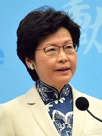 Chief Executive of Hong Kong - Image: 香港候任特首林鄭月娥13