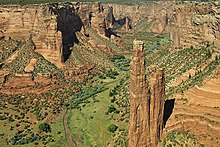 00 730 Canyon de Chelly National Monument (USA, Arizona) - Spider Rock.jpg
