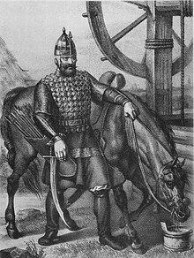 Fine Medieval Horse Stirrup 10-12 AD Kievan Rus
