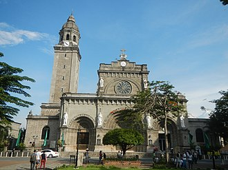 Roman Catholic Archdiocese of Manila - The Manila Cathedral, the seat of the archdiocese