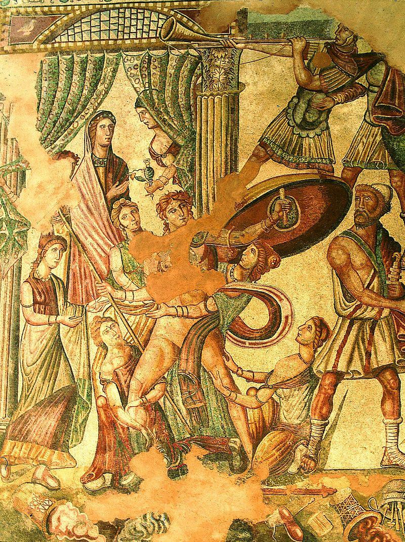 05-Mosaico del Oecus. Aquiles en Skyros alta.jpg
