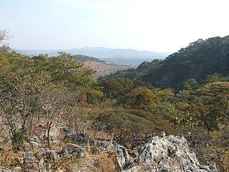 Central Province, Zambia - Kundalila Falls