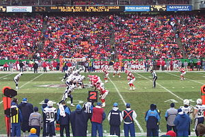 2008 San Diego Chargers season - Image: 081214Chargers Chiefs 02