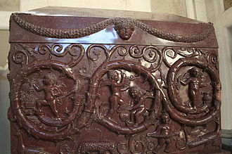 Sarcophagi of Helena and Constantina - Sarcophagus of Constantina, (340 AD)