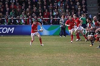 Ronan O'Gara - O'Gara playing against Harlequins in 2013.