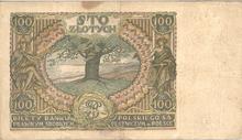 100 złotych 1932 r.  REWERS.PNG