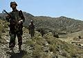 10th Mountain Division, Afghan National Army, Afghan Border Patrol Service Members Patrol Khas Kunar District DVIDS187644.jpg