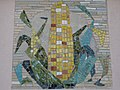 1120 Sagedergasse Rothenburgstraße Stg 7 - Mosaiksupraporte Maiskolben von Hermann Kosel 1954 IMG 7159.jpg