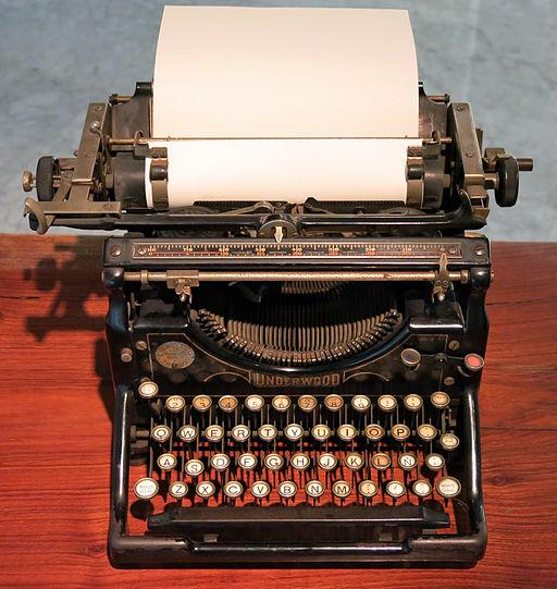 12 Màquina d'escriure Underwood