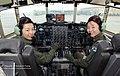 13.3.20 공군 5전비 이나겸·오현진 대위 편조, 국내 C-130H 비행임무 수행 C-130H of ROK Airforce the 5th Fighter Wing (8575648769).jpg