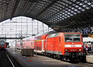 NRW-Express - NRW-Express in Cologne Hbf