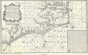 Bath County, North Carolina - Albemarle and Bath counties (1738)