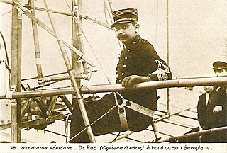Ferdinand Ferber French Army captain and aviator
