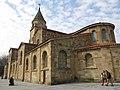 180 Església de San Pedro, pl. Arcipreste Ramón Piquero 1 (Cimavilla, Gijón), angle sud-est.jpg